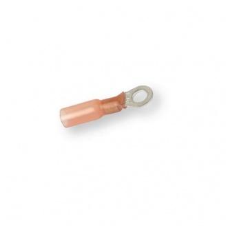 Клемма термоусадочная кольцевая красная Berner 0,5-1,5 мм 5,3