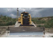 Переміщення ґрунтів бульдозером Caterpillar D6R 27т