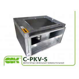 Канальный вентилятор C-PKV-S-40-20-4-380 в шумоизолированном корпусе