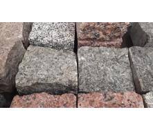 Бруківка гранітна колота Маславка 100х100х50 мм