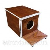 Будка для котов Adirondak Куб 40х50х40 см