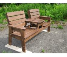 Садовая скамейка Первая 160х70х90 см