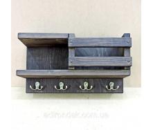 Полка для ванной Морион 29х14х55 см