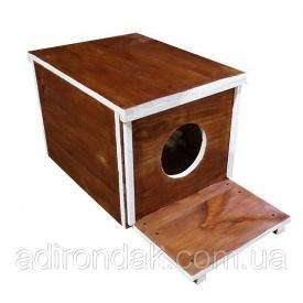 Будка для котів Adirondak Куб 40х50х40 см