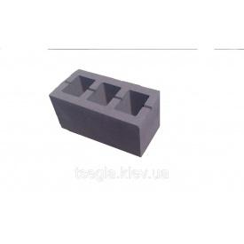 Блок будівельний гладкий 390х190х120 мм