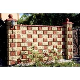 Блок стеновой односторонний 390х190х90 мм