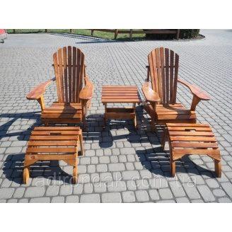 Кресла садовые Адирондак комплект
