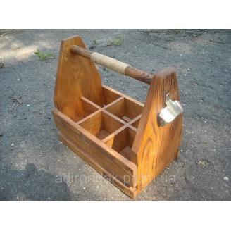 Деревяный ящик для пива