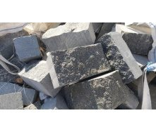 Бруківка гранітна Габро буханець 20x10x10 см