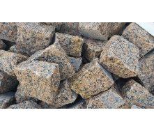 Бруківка гранітна колота Омелянівка 10х10х5 см