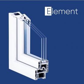 Окно KÖMMERLING 70 мм ST plus поворотно-откидное с базовой противовзломностью