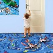 Детский игровой ковер для мальчика Планес 70