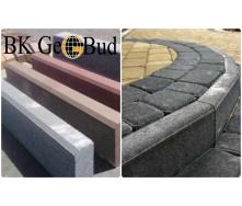 Бордюр бетонный садовый 500х200х60 мм