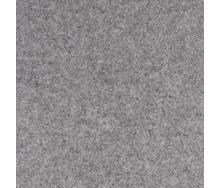 Серый износостойкий ковролин на резиновой основе 1 м