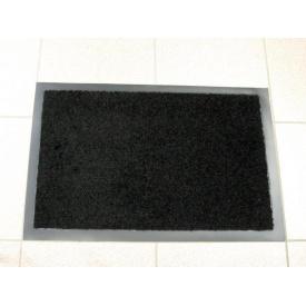 Придверний килимок на гумовій основі з окантовкою Condor Entree 40х60 Чорний
