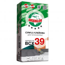 Суха суміш для теплоізоляції Anserglob ВСХ 39 25 кг