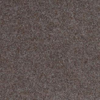 Коричневый износостойкий ковролин на резиновой основе Бельгия 1500
