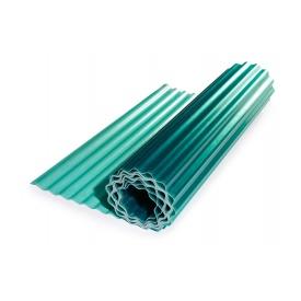 Прозрачный гофрированный шифер Элипласт зеленый 1,5 Х 10 м
