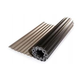 Прозрачный усиленный гофрированный шифер Элипласт бронзовый 2,0 Х 10 м