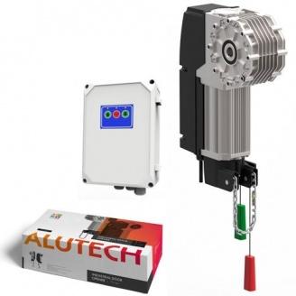 Автоматика Alutech Targo для промислових воріт 30 м2 500 кг IP65 (TR-10024-400KIT)