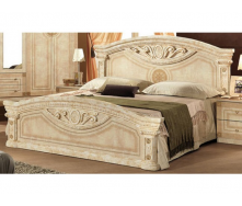 Ліжко Меблі-Сервіс Рома 210х59х190 см клен