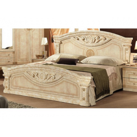 Кровать Мебель-Сервис Рома 210х59х190 см клён