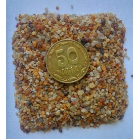Кварцевый песок фаркционированный 0,8-1,2 50 кг