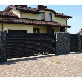 Откатные ворота Жалюзи VV13