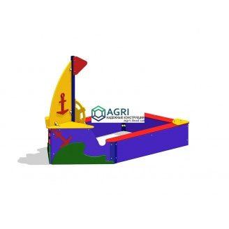 Пісочниця Човник A-8500