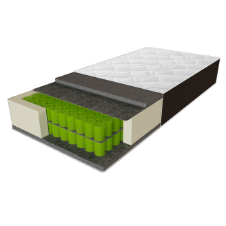 Матрац Delta 70х190 Sleep&Fly Organic ЕММ