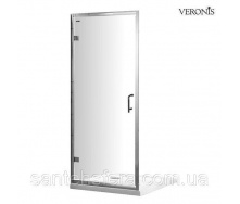 Душевая дверь VERONIS D-7-90 прозрачная 90х190 см