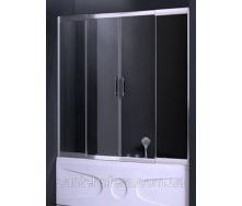 Штора для ванны Atlantis PF-16-2 160-180x150 см
