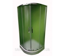Душова кабіна Veronis KN-3-100 100х100х195 см XL матове скло
