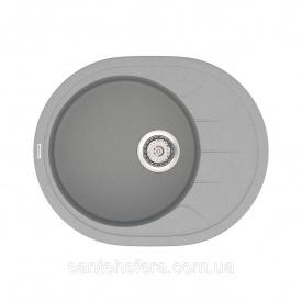 Кухонная мойка VANKOR Sity SMO 02.61 Gray