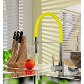Змішувач для кухні Invena KAMELEON лимонний
