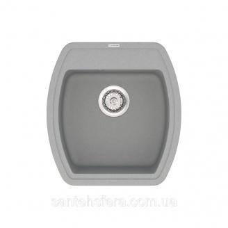 Кварцова кухонна мийка VANKOR Norton NMP 01.48 Gray