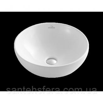 Умывальник накладной Invena DOKOS белый 40 см