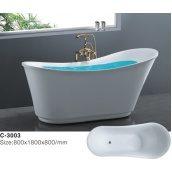 Отдельностоящая ванна акрилова Atlantis З-3003