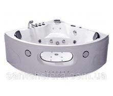Акрилова ванна Iris TLP-638 с гідро та аеромасажем кутова 152х152х63 см