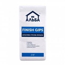 Шпаклевка гипсовая Finish Gips 2 кг