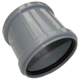 Муфта соединительная на трубу для внутренней канализации 110 мм