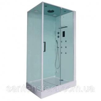 Гідромасажний паровий душовий бокс Orans SR-86120BS (R) 120х90х220 см