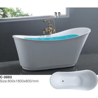 Отдельностоящая акриловая ванна Atlantis С-3003
