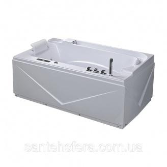 Акрилова ванна Iris TLP-679 с гідро та аеромасажем 170х90х67 см
