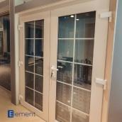 Двері вхідні Kommerling 76 мм 1000х21000 мм із замиканням іклами