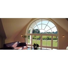 Окно со шпросами Rehau