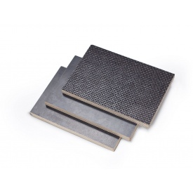 Фанера ФСФ ламинированная сетка/гладкая 2500x1250x18 мм