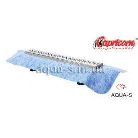 Трап-лоток душевой Capricorn DN 50 с гидроизоляцией 800x98х127 мм