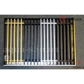 Решетка для внутрипольного конвектора POLVAX дюралюминиевая анодированная