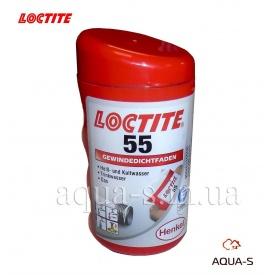 Нитка поліамідна Loctite 55 для герметизації різьбових з'єднань 160 м